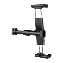 Držák BASEUS do auta na opěrku pro Apple iPad / iPhone a další zařízení - 360° otočný - černý