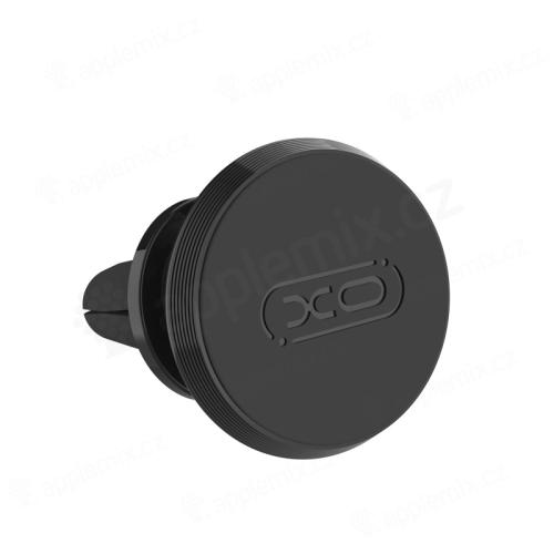 Držák do auta XO - magnetický - do ventilační mřížky - 360° otočný - černý