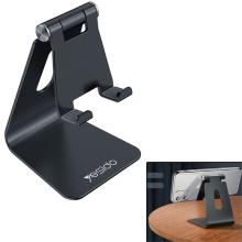 Stojánek YESIDO pro Apple iPhone / iPad mini - hliníkový - černý