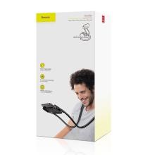 """Stojánek / držák BASEUS pro Apple iPhone / iPad (4 - 10"""") - ohebný - za krk"""