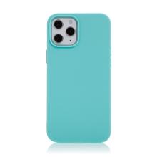 Kryt pro Apple iPhone 12 Pro Max - gumový - světle modrý