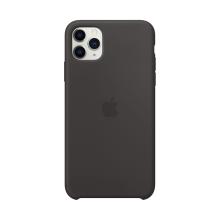 Originální kryt pro Apple iPhone 11 Pro Max - silikonový - černý