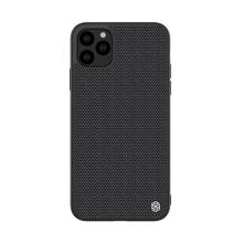 Kryt NILLKIN pro Apple iPhone 11 Pro Max - gumový / látkový - černý