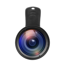 Multifunkční objektiv APEXEL - sada 2v1 - ultraširoký + makro objektiv pro Apple iPhone