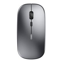 Myš optická bezdrátová INPHIC - Bluetooth 5.0 + USB přijímač - šedá