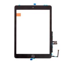 "Dotykové sklo (touch screen) pro Apple iPad 9,7"" (2018) + Home Button (osazené) - černé - kvalita A+"