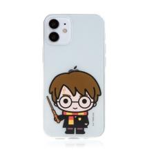 Kryt Harry Potter pro Apple iPhone 12 mini - gumový - Harry Potter - průhledný