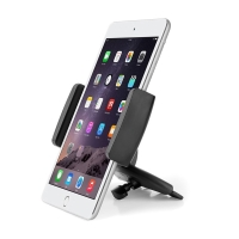 Držák / stojánek pro Apple iPhone / iPad mini do CD zdířky / na stůl - černý