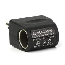 Přepojka / adaptér / redukce / zdroj - síťová zásuvka 230V na autozásuvku 12V / 0,5A - černá