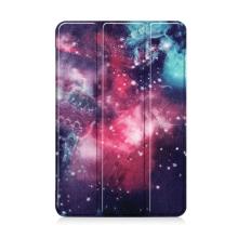 Pouzdro / kryt pro Apple iPad mini 4 / mini 5 - funkce chytrého uspání - plastové - galaxie