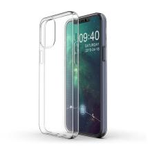 """Kryt pro Apple iPhone 12 Pro Max (6,7"""") - gumový - průhledný"""