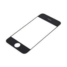 Náhradní přední sklo pro Apple iPhone 2G s černým rámečkem