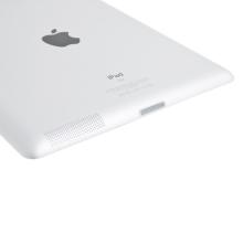 Antiprachová záslepka dock konektoru pro Apple iPad 2. / 3.gen. - průhledná