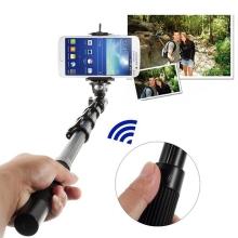 Teleskopická selfie tyč / monopod - bluetooth dálková spoušť pro Apple iPhone / iPod a jiná zařízení