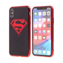 Kryt pro Apple iPhone Xs Max - Superman - gumový