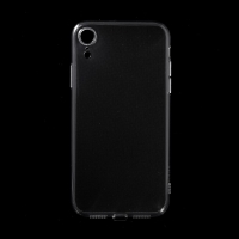 Kryt pro Apple iPhone Xr - gumový - průhledný