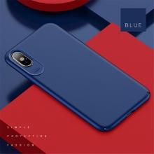 Kryt USAMS Jay pro Apple iPhone X - plastový - modrý