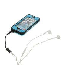 Voděodolné plastové pouzdro Redpepper pro Apple iPhone 5 / 5S / SE s podporou funkce Touch ID + poutko na ruku