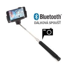 Teleskopická selfie tyč / monopod bluetooth - černá