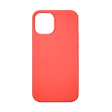 Kryt TACTICAL Velvet Smoothie pro Apple iPhone 12 Pro Max - příjemný na dotek - silikonový - chilli červený