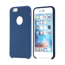 Kryt pro Apple iPhone 6 / 6S - gumový - příjemný na dotek - výřez pro logo