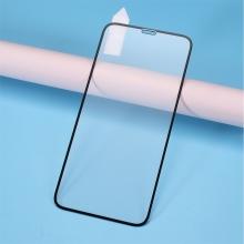 Tvrzené sklo (Tempered Glass) RURIHAI pro Apple iPhone - černý rámeček - 2,5D - 0,26mm