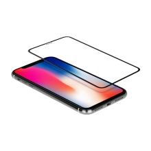 3D tvrzené sklo (Tempered Glass) MOMAX pro Apple iPhone Xr / 11 - černé - 0,33mm
