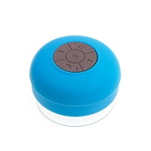 Reproduktor Bluetooth - voděodolný - silikonový - modrý