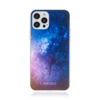 Kryt BABACO pro Apple iPhone 12 Pro Max - gumový - galaxie