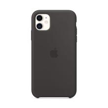 Originální kryt pro Apple iPhone 11 - silikonový - černý